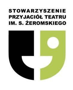 Logo Stowarzyszenia Przyjaciół Teatru im. S. Żeromskiego
